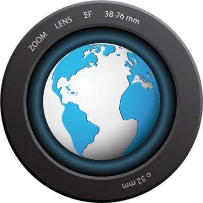 bigstock-News-sign-planet-in-a-camera--25599383